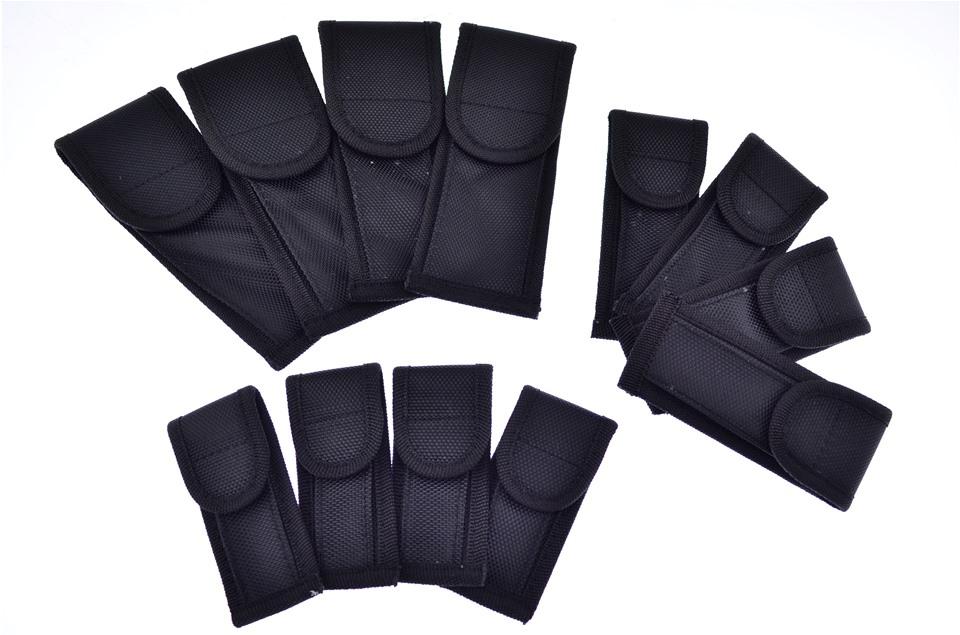 assortment with nylon sheath along