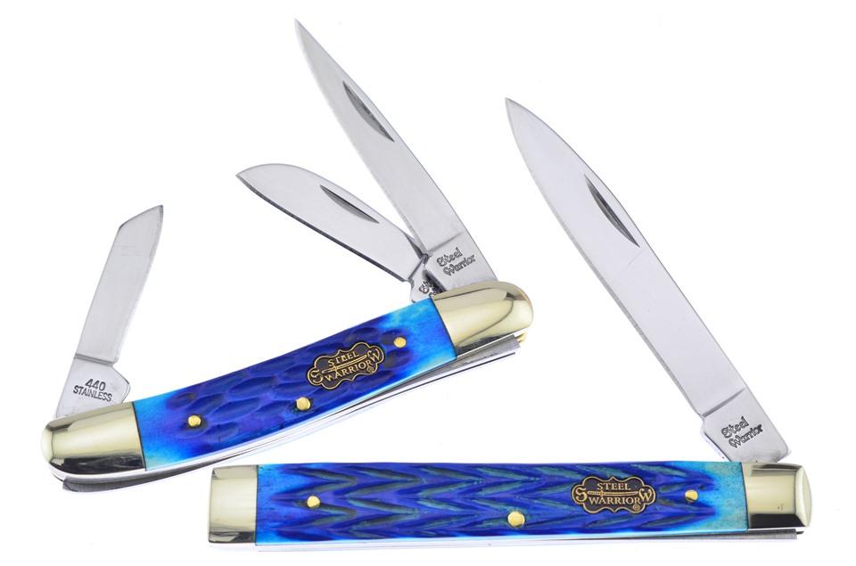 CCN-58754 Cancun Blue Jigbone Duo (2pcs) [Steel Warrior]