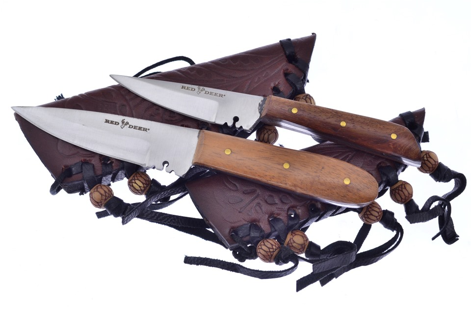CCN-59080 Red Deer Patch Combo  [Red Deer • Fixed Blades & Hunters • Skinning Knives]