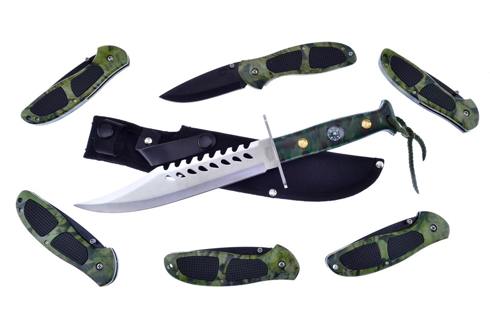 CCN-59310 I Will Survive  [Assorted • Fixed Blades & Hunters • Bowies]