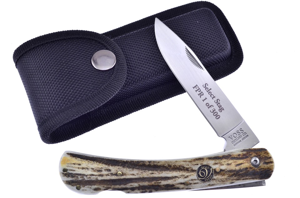 CCN-59728 First Prod Run Stag Dirt Buster (1pc) [Voss Cutlery]